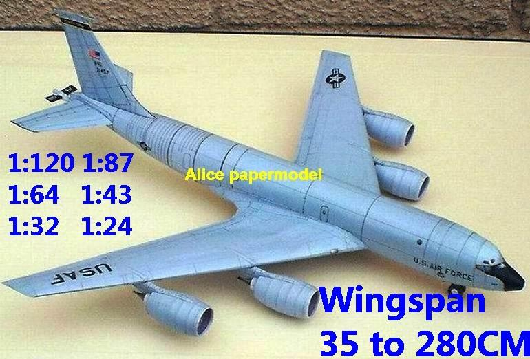1:120 1:87 1:64 1:48 1:43 1:33 1:24 Boeing KC-135 KC135 Stratotanker military aerial refueling fighter transport aircraft bomber biplane big large scale size plane flight model models soldier pilot scene on sale shop store