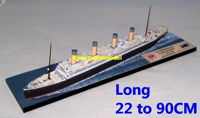 British UK RMS Olympic class titanic yacht Costa NCL MSC Royal caribbean passenger liner cruise big large scale size ship sailing boat model models cargo container tanker bulk freighter cruiser tugboat Ferry Sailboat papercraft Military army Soldiers Barbie doll model scene paper on for sale shop store