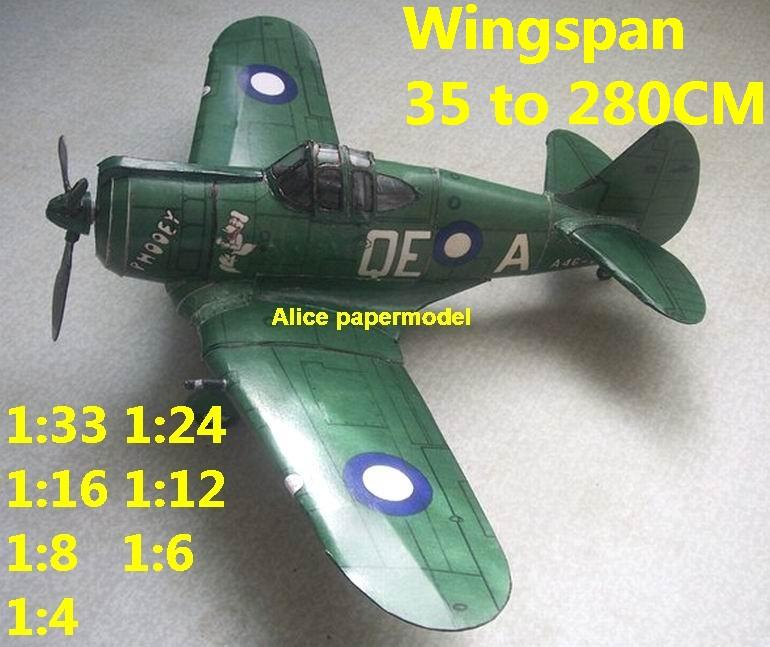 1:48 1:33 1:24 1:16 1:12 1:8 1:6 WWII Australia fighter BOOMERANG aircraft bomber biplane big large scale size plane flight model models soldier pilot scene on sale shop store
