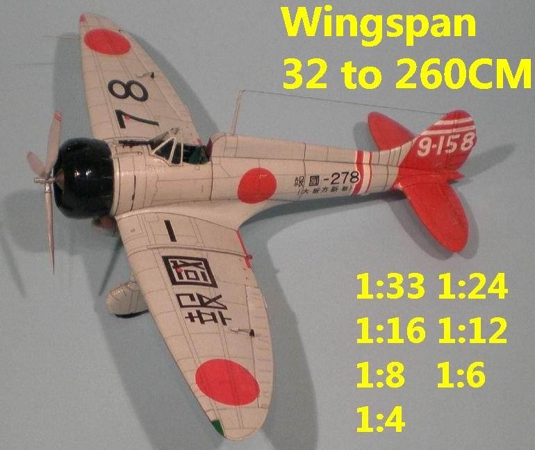 1:48 1:33 1:24 1:16 1:12 1:8 1:6 WWII Japan Japanese fighter bomber Mitsubishi A5M4 Claude aircraft biplane big large scale size plane flight model models soldier pilot scene for sale shop store