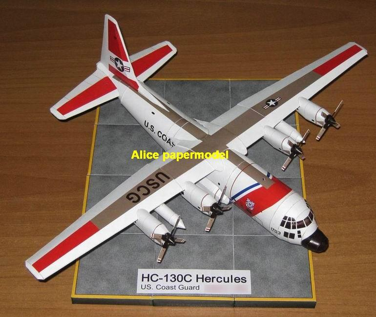 1:100 1:72 1:48 1:33 1:24 1:18 1:16 1:12 1:8 1:6 US army Coast Guard HC-130 HC130 C-130 C130 Hercules combat search and rescue CSAR helicopter fighter bomber military transport aircraft biplane big large scale size plane flight model models soldier pilot scene for sale shop store