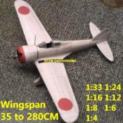 1:48 1:33 1:24 1:16 1:12 1:8 1:6 WWII Japan Japanese fighter Nakajima Ki-27 Ki27 Nate bomber aircraft biplane big large scale size plane flight model models soldier pilot scene for sale shop store