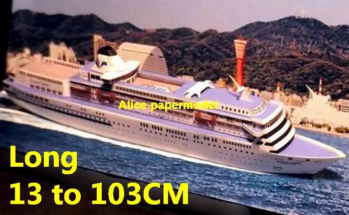 Japan Osaka Pacific Venus yacht Costa NCL MSC Royal caribbean Princess passenger liner cruise big large scale size ship sailing boat model models cargo container tanker bulk freighter cruiser tugboat Ferry Sailboat papercraft Military army Soldiers Barbie doll model scene paper on for sale shop store