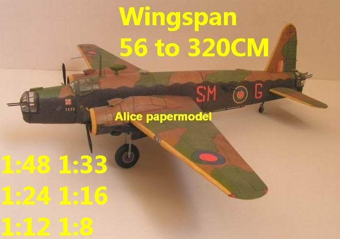 1:48 1:33 1:24 1:16 1:12 1:8 WWII UK United Kingdom fighter Vickers Wellington bomber aircraft biplane big large scale size plane flight model models soldier pilot scene for sale shop store