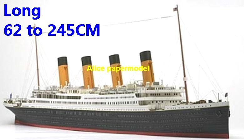 UK Titanic luxury yacht Costa MSC NCL Royal caribbean Princess ferry bulk freighter cruiser vessels ship big large scale size ship sailing boat models model passenger liner cruise cargo container tanker cruiser tugboat Sailboat Ferry papercraft Military army Soldiers Barbie doll model scene paper on for sale store shop