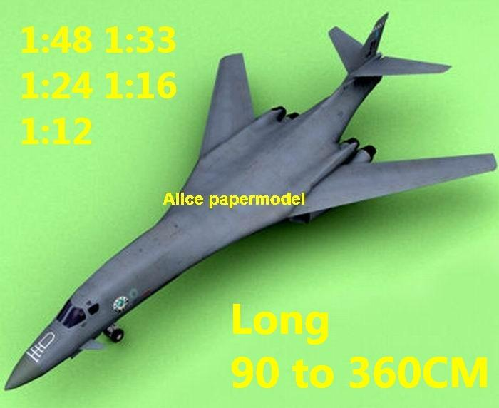 1:72 1:48 1:33 1:24 1:18 1:16 1:12 US USAF Rockwell B-1 B1 B-1B B1B Lancer heavy Stealth bomber jet fighter helicopter military transport aircraft biplane big large scale size plane flight model models soldier pilot scene on sale store shop