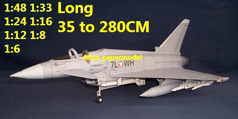 1:48 1:33 1:24 1:18 1:16 1:12 1:8 1:6 Eurofighter EF2000 EF-2000 Attack Aircraft stealth prototype jet fighter helicopter bomber military transport aircraft biplane big large scale size plane flight model models soldier pilot scene for sale store shop