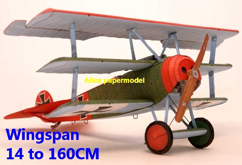 1:48 1:33 1:24 1:18 1:16 1:12 1:8 1:6 1:4 World War I WWI Germany German Fokker DR1 DR-1 Triplane The Red Baron sesquiplane vintage biplane jet fighter helicopter bomber military transport aircraft big large scale size plane flight model models soldier pilot scene for sale shop store