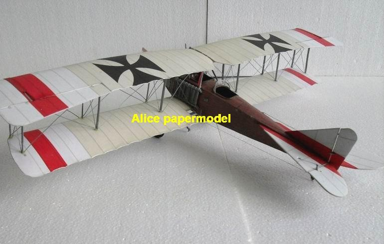 1:48 1:33 1:24 1:18 1:16 1:12 1:8 1:6 1:4 World War I WWI German Germany Albatros B.II BII Red Baron The Red Baron vintage biplane jet fighter helicopter bomber military transport aircraft big large scale size plane flight model models soldier pilot scene for sale shop store