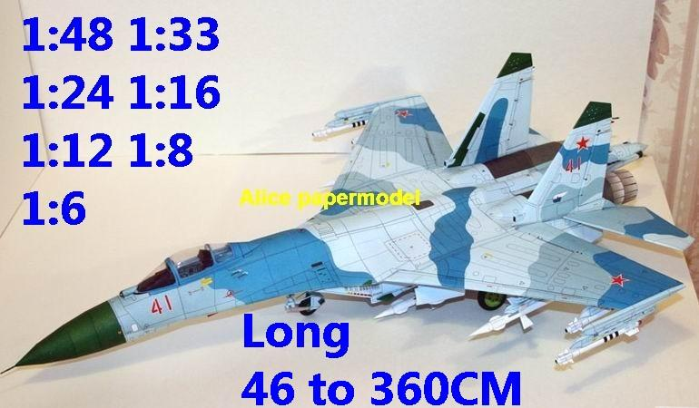 1:48 1:33 1:24 1:18 1:16 1:12 1:8 1:6 USSR Russia Sukhoi Su27 Su-27 Cy-27 Cy27 Flanker jet fighter helicopter bomber military transport aircraft biplane big large scale size plane flight model models soldier pilot scene on sale shop store