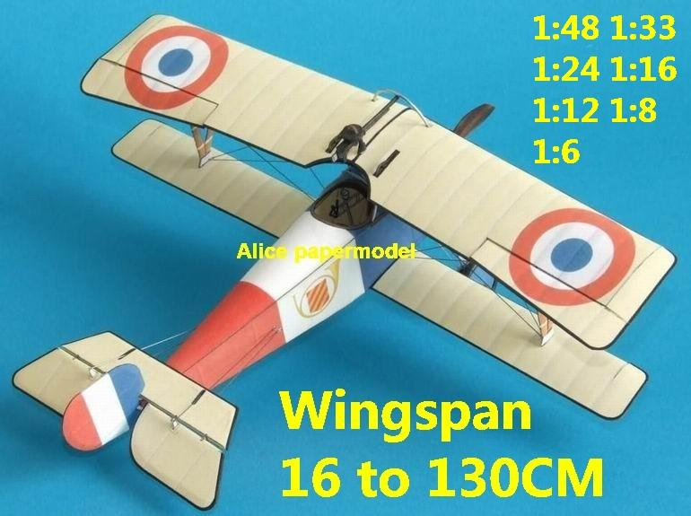 1:48 1:33 1:24 1:18 1:16 1:12 1:8 1:6 1:4 World War I WWI Imperial France French Gustave Delage Nieuport 11 Bebe Red Baron The Red Baron sesquiplane vintage biplane jet fighter helicopter bomber military transport aircraft big large scale size plane flight model models soldier pilot scene for sale store