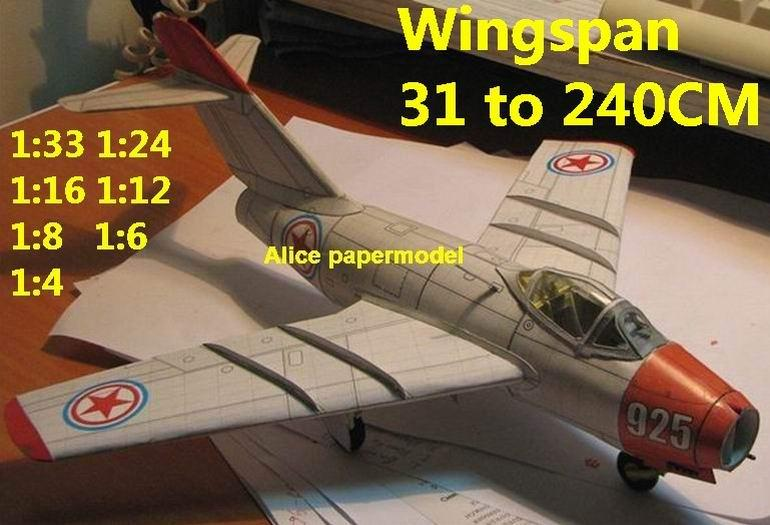 1:48 1:33 1:24 1:18 1:16 1:12 1:8 1:6 1:4 North Korea war China USSR mig-15 mig15 J5 J-5 jet fighter biplane helicopter bomber military transport aircraft big large scale size plane flight model models soldier pilot scene for sale store shop