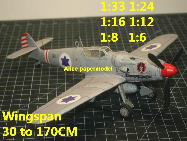 1:48 1:33 1:24 1:18 1:16 1:12 1:8 1:6 1:4 World War II WWII Israeli Air Force Avia S-199 S199 bf109 bf-109 vintage biplane jet fighter helicopter bomber military transport aircraft big large scale size plane flight model models soldier pilot scene for sale shop store