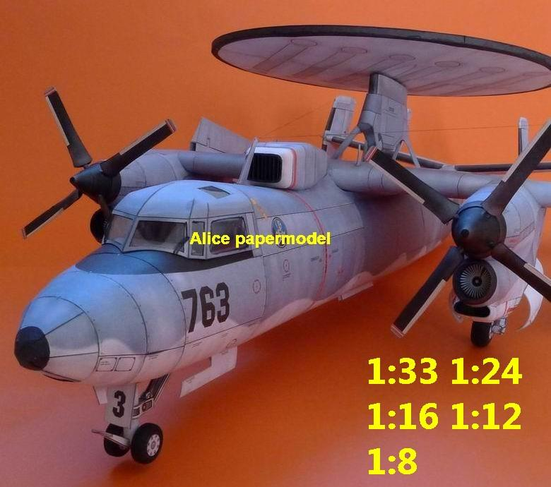 1:48 1:33 1:24 1:18 1:16 1:12 1:8 US USA Northrop Grumman E2C E-2 Hawkeye tactical airborne early warning AEW aircraft Senior Span reconnaissance electronic warfare vintage biplane jet fighter helicopter bomber military transport aircraft big large scale size plane flight model models soldier pilot scene for sale store shop