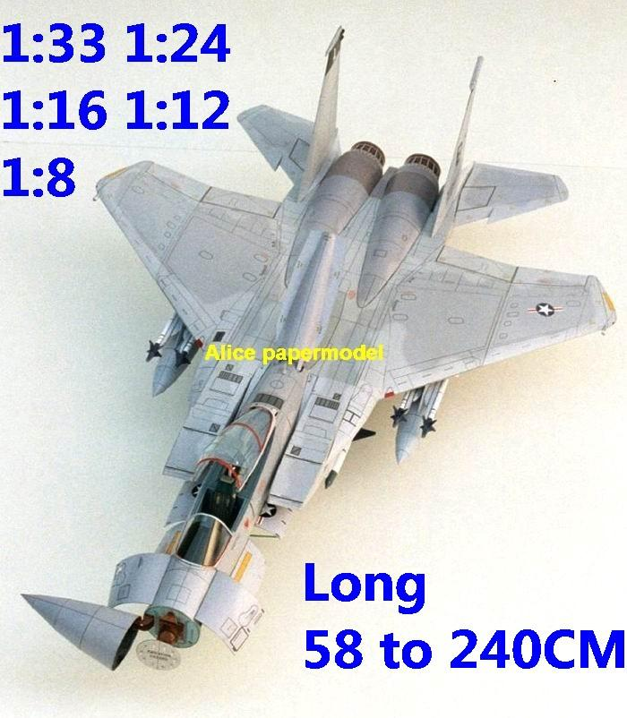 1:33 1:24 1:18 1:16 1:12 US McDonnell Douglas F-15C F15C F-15 F15 Eagle jet fighter bomber helicopter military transport aircraft biplane big large scale size plane flight model models soldier pilot scene for sale shop store