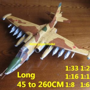 1:48 1:33 1:24 1:18 1:16 1:12 1:8 1:6 Russia USSR Sukhoi Su-25 Su25 Grach Frogfoot ground attack jet fighter bomber helicopter military transport aircraft biplane big large scale size plane flight model models soldier pilot scene for sale shop store
