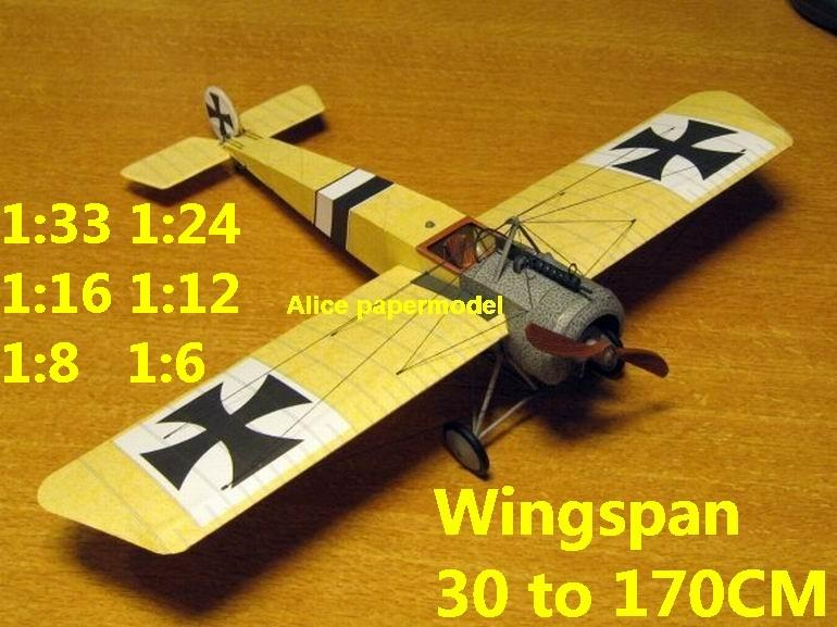 1:48 1:33 1:24 1:18 1:16 1:12 1:8 1:6 1:4 World War I WWI Imperial German Germany Fokker EII E.II Red Baron The Red Baron vintage biplane jet fighter helicopter bomber military transport aircraft big large scale size plane flight model models soldier pilot scene on sale shop store