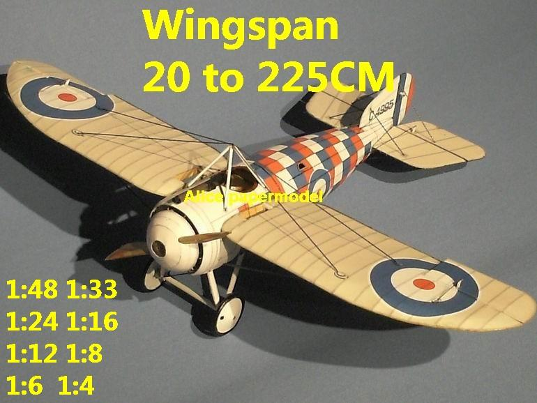 1:48 1:33 1:24 1:18 1:16 1:12 1:8 1:6 1:4 World War I WWI Imperial British England UK Bristol M1C M.1 C The Red Baron sesquiplane vintage biplane jet fighter helicopter bomber military transport aircraft big large scale size plane flight model models soldier pilot scene for sale shop store