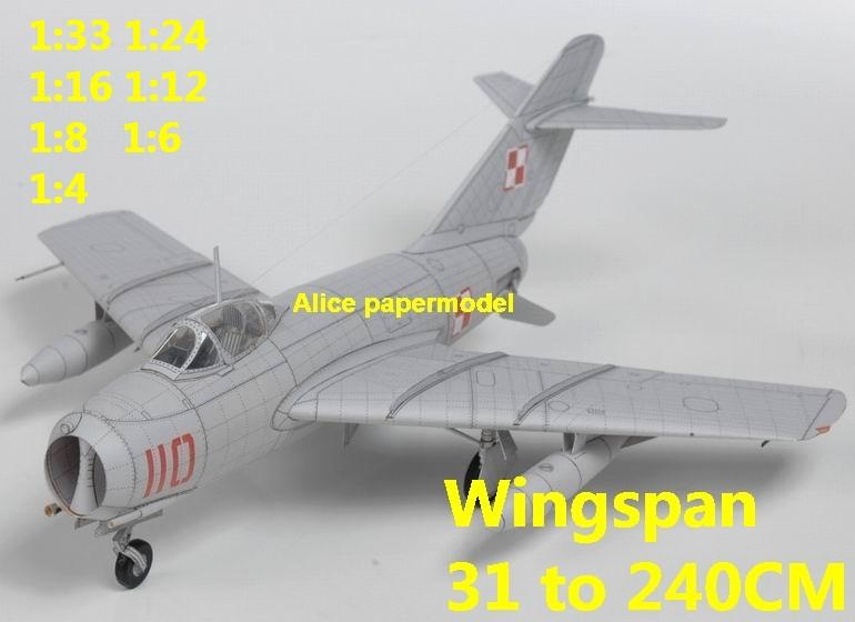 1:48 1:33 1:24 1:18 1:16 1:12 1:8 1:6 Russia USSR Mikoyan Gurevich MiG-15 MiG15 jet fighter helicopter bomber military transport aircraft biplane big large scale size plane flight model models soldier pilot scene for sale shop store