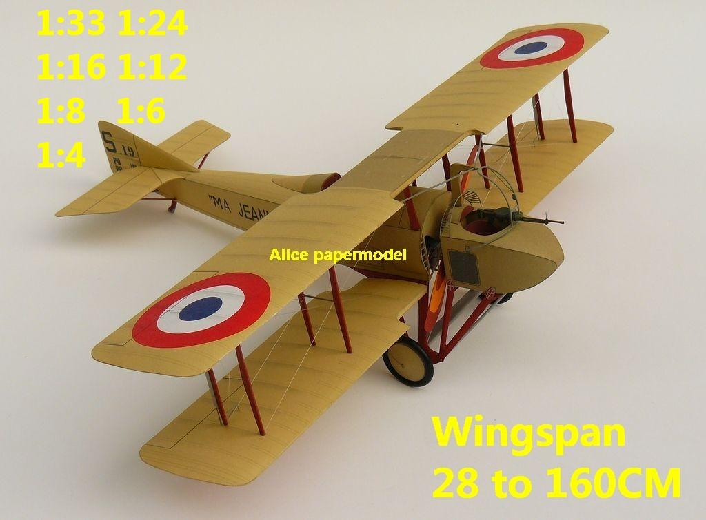 1:48 1:33 1:24 1:18 1:16 1:12 1:8 1:6 1:4 World War I WWI Imperial French France Dufaux C2 SPAD S.A SA Triplane Red Baron The Red Baron sesquiplane vintage biplane jet fighter helicopter bomber military transport aircraft big large scale size plane flight model models soldier pilot scene for sale shop store