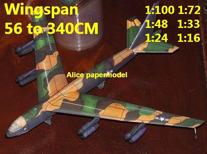 1:100 1:72 1:48 1:33 1:24 1:18 1:16 US USAF B-52 B52 Stratofortress heavy bomber jet fighter helicopter military transport aircraft biplane big large scale size plane flight model models soldier pilot scene on sale shop store