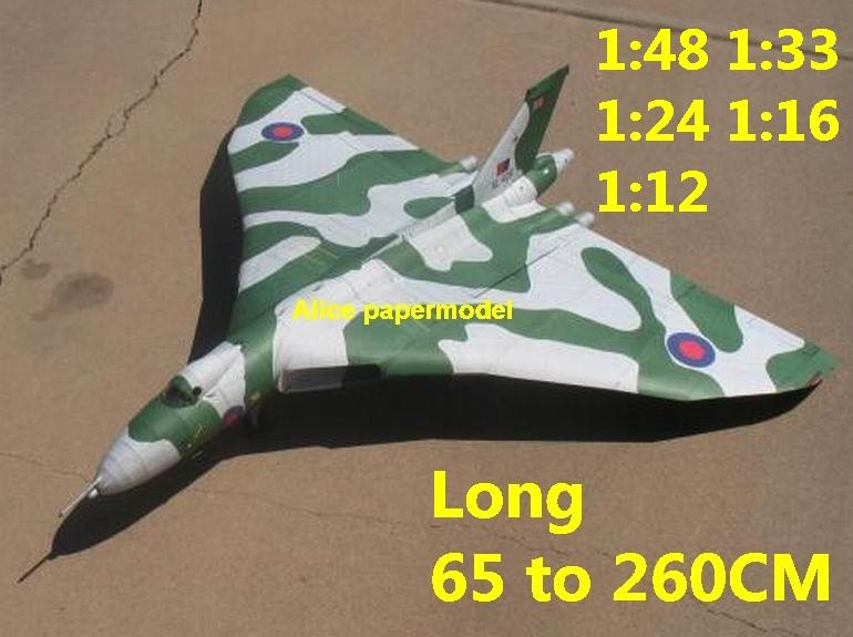 1:48 1:33 1:24 1:18 1:16 1:12 UK Avro Vulcan flywing fly wing heavy bomber jet fighter helicopter military transport aircraft biplane big large scale size plane flight model models soldier pilot scene on sale store shop