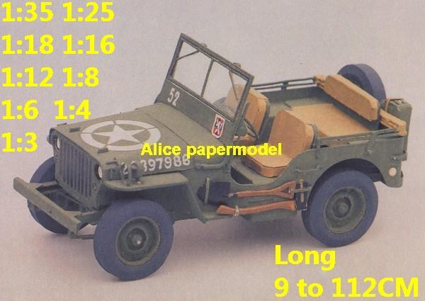 1:25 1:18 1:16 1:12 1:8 1:6 1:4 1:3 scale WWII World War II WW2 US USA United States army Willys MB jeep tank armoured car half track half-track SAM missle launcher launches artillery truck MBT main battle armored vehicle vehicles military army train big large scale size car model models soldier soldiers scene on for sale shop store
