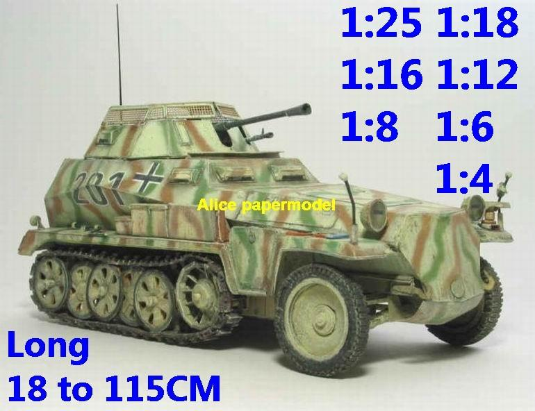 1:18 1:16 1:12 1:8 1:6 1:4 scale WWII World War II WW2 German Germany Hanomag Sd.Kfz. 250 Sonderkraftfahrzeug 250 SdKfz 250 half-track half track tank SAM missle launcher launches artillery truck MBT main battle jeep armored vehicle vehicles military army train big large scale size car model models soldier soldiers scene for on sale shop store