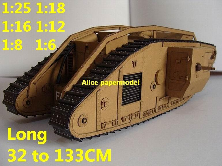 1:25 1:18 1:16 1:12 1:8 1:6 scale World War I WWI United Kingdom UK army Mark MK IV Male armoured vehicle Fighting vehicle armored vehicles MBT main battle tank modern self propelled howitzer cannon military truck jeeps jeep armoured car SAM missle launcher launches artillery military train big large scale size car model models soldier soldiers scene on for sale shop store