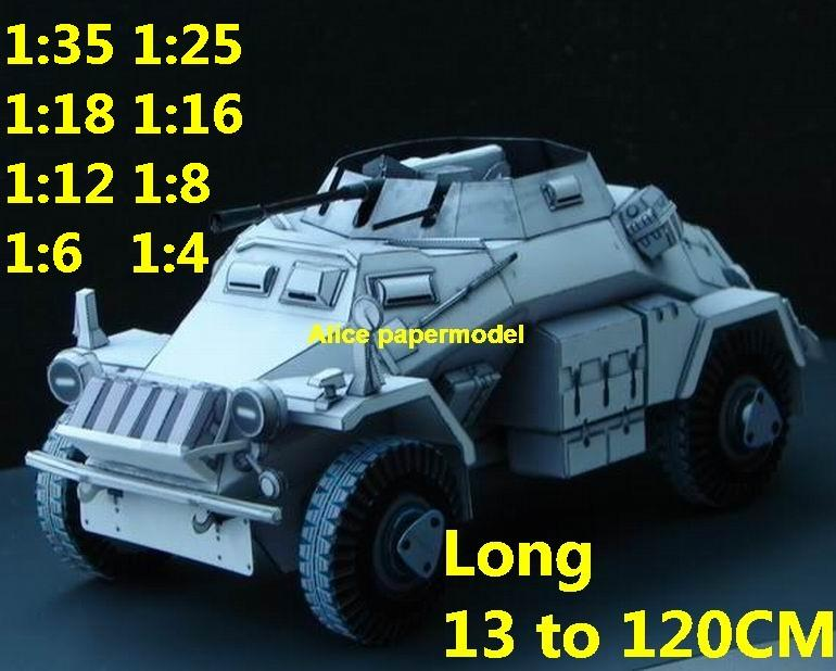 1:35 1:25 1:18 1:16 1:12 1:8 1:6 1:4 scale WWII World War II WW2 German Germany SdKfz-222 SdKfz 222 tank artillery truck MBT main battle jeep armored vehicle vehicles military army train big large scale size car model models soldier soldiers scene for on sale store shop