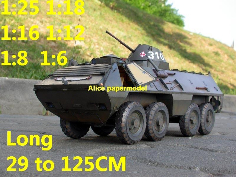 1:25 1:18 1:16 1:12 1:8 1:6 scale Cold War modern USSR Soviet Union Russia Poland Polish red army OT-64 OT64 SKOT armoured transporter MBT main battle tank self propelled howitzer cannon military truck jeep jeeps armoured car half track half-track SAM missle launcher launches artillery armored vehicle vehicles military train big large scale size car model models soldier soldiers scene for on sale store shop