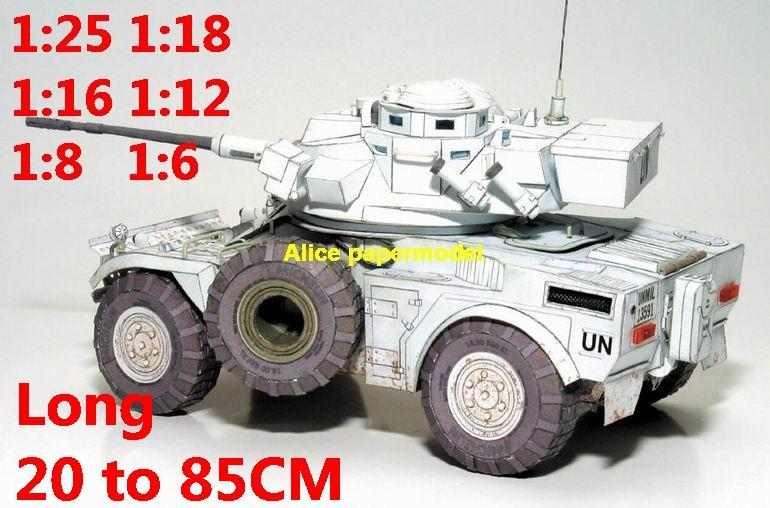 1:25 1:18 1:16 1:12 1:8 1:6 scale Cold War modern France French United Nation UN army Panhard AML 20 AML-20 amphibious infantry combat vehicle armoured transporter MBT main battle tank self propelled howitzer cannon military truck jeeps jeep armoured car half track half-track SAM missle launcher launches artillery armored vehicle vehicles military train big large scale size car model models soldier soldiers scene for on sale shop store