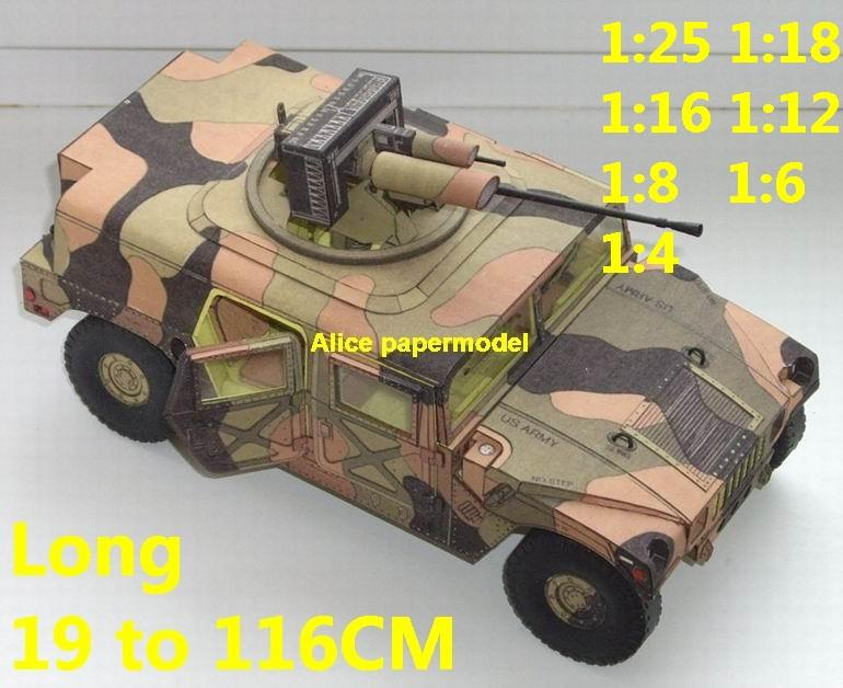 1:25 1:18 1:16 1:12 1:8 1:6 1:4 scale USA US United States army M998 Hummer H1 H2 H3 Willys MB jeep jeeps tank armoured car half track half-track SAM missle launcher launches artillery truck MBT main battle armored vehicle vehicles military army train big large scale size car model models soldier soldiers scene on for sale store shop
