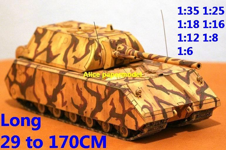 1:35 1:25 1:18 1:16 1:12 1:8 1:6 scale WWII World War II Germany German Panzerkampfwagen VIII Maus Mouse super heavy tank rocket missle launcher launches artillery truck MBT main battle jeep armored vehicle vehicles military army train big large scale size car model models soldier soldiers scene for on sale store shop