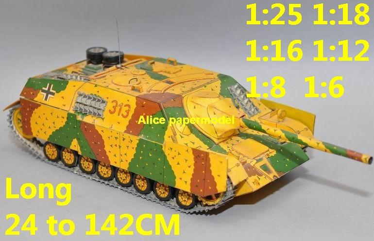 1:25 1:18 1:16 1:12 1:8 1:6 scale WWII World War II WW2 German Germany Panzer IV Sd.Kfz. 162 SdKfz 162 JagdPanzer IV half-track half track tank missle launcher artillery truck MBT main battle jeep armored vehicle vehicles military army train big large scale size car model models soldier soldiers scene for on sale store shop