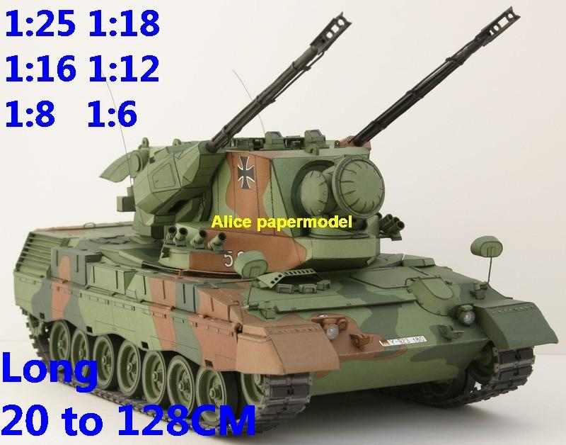 1:25 1:18 1:16 1:12 1:8 1:6 scale Cold War modern Germany German army Flakpanzer Gepard A1 radar guided anti aircraft weapon system SPAAG infantry combat vehicle armoured transporter MBT main battle tank self propelled howitzer cannon military truck jeep jeeps armoured car half track half-track SAM missle launcher launches artillery armored vehicle vehicles military train big large scale size car model models soldier soldiers scene for on sale shop store