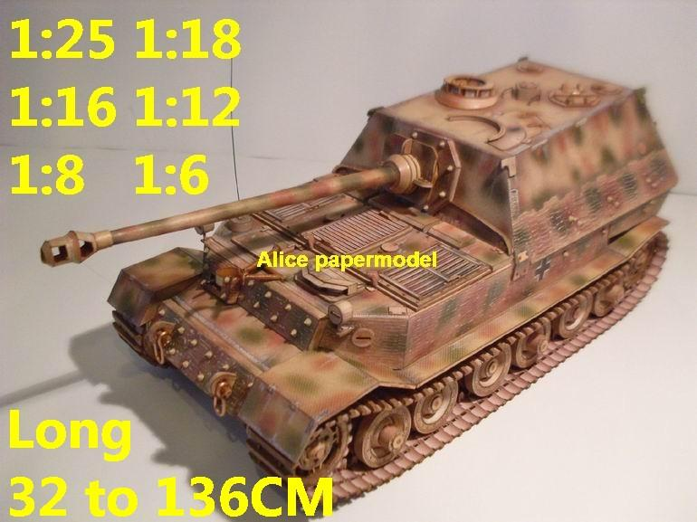 1:25 1:18 1:16 1:12 1:8 1:6 scale WWII World War II WW2 Germany German Panzer Tiger I Ferdinand Elefant elephant gun half-track half track tank destroyer artillery truck MBT main battle jeep armored vehicle vehicles military army train big large scale size car model models soldier soldiers scene for on sale shop store