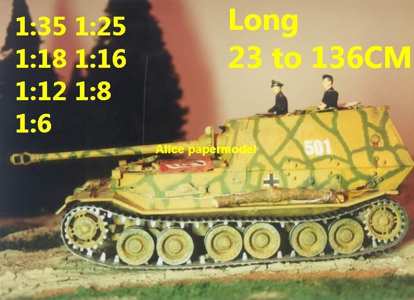 1:35 1:25 1:18 1:16 1:12 1:8 1:6 1:4 scale WWII World War II WW2 Germany German Panzer Tiger I Ferdinand Elefant elephant gun half-track half track tank destroyer artillery truck MBT main battle jeep armored vehicle vehicles military army train big large scale size car model models soldier soldiers scene on sale shop store