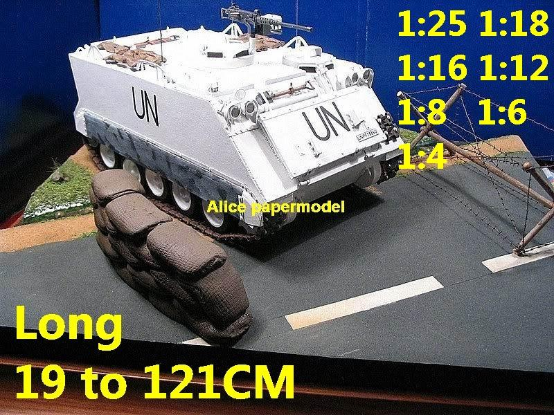 1:25 1:18 1:16 1:12 1:8 1:6 1:4 scale Cold War modern USA US UN army M113 M-113 armored personnel carrier infantry combat vehicle armoured transporter MBT main battle tank self propelled howitzer cannon military truck jeeps jeep armoured car half track half-track SAM missle launcher launches artillery armored vehicle vehicles military train big large scale size car model models soldier soldiers scene for on sale store shop