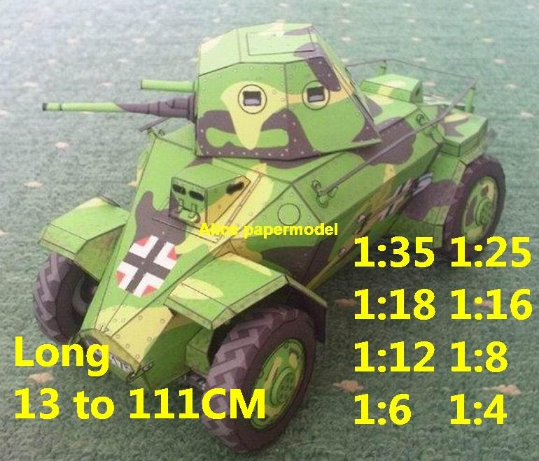 1:35 1:25 1:18 1:16 1:12 1:8 1:6 1:4 scale WWII World War II WW2 German Germany Royal Hungarian 39M Csaba half-track half track tank missle launcher artillery truck MBT main battle jeep armored vehicle vehicles military army train big large scale size car model models soldier soldiers scene for on sale shop store