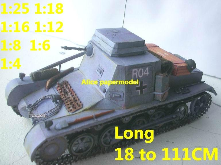 1:35 1:25 1:18 1:16 1:12 1:8 1:6 1:4 scale WWII World War II German Germany Panzer I Pz.Kpfw.I PzKpfw I Sd.Kfz. SdKfz 265 kleine Panzerbefehlswagen tank rocket missle launcher launches artillery truck MBT main battle jeep armored vehicle vehicles military army train big large scale size car model models soldier soldiers scene for on sale store shop