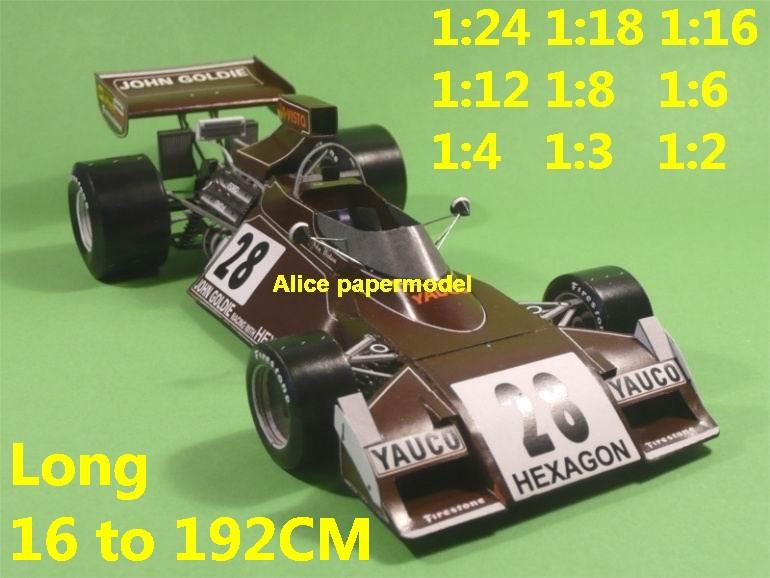 1:24 1:18 1:16 1:12 1:8 1:6 1:4 1:3 1:2 scale 1974 1973 Nurburgring Monaco Repco Brabham BT42 BT-42 BT 42 Cosworth DFV team FIA Grands Prix Formula one 1 F1 F-1 Ferrari Mercedes Renault Honda racing papercraft sport vintage classic old car sedan big large scale size car models model for on sale shop store papercraft