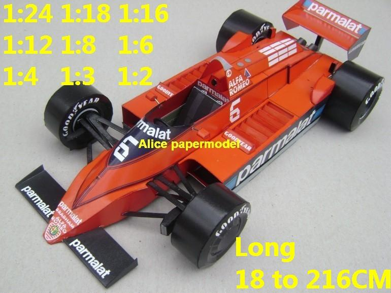 1:24 1:18 1:16 1:12 1:8 1:6 1:4 1:3 1:2 scale 1979 Repco Brabham BT48 BT-48 BT 48 team Grands Prix FIA Formula one 1 F1 F-1 Ferrari Mercedes Renault Honda racing papercraft sport vintage classic old car sedan big large scale size car models model for on sale shop store papercraft