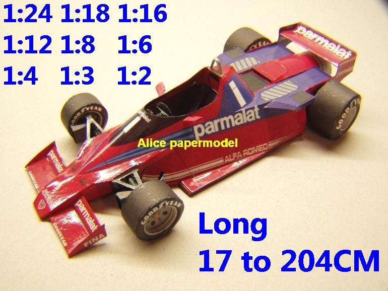 1:24 1:18 1:16 1:12 1:8 1:6 1:4 1:3 1:2 scale 1978 Brabham BT46 BT-46 BT 46 team Grands Prix FIA Formula one 1 F1 F-1 Ferrari Mercedes Renault Honda racing papercraft sport vintage classic old car sedan big large scale size car model models on for sale shop store papercraft