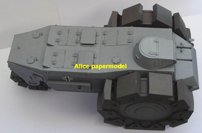 1:25 1:18 1:16 1:12 1:8 1:6 scale WWI World War I German Germany army  ALKETT VSKFZ 617 MINENRAUMER armoured vehicle Fighting vehicle armored  vehicles