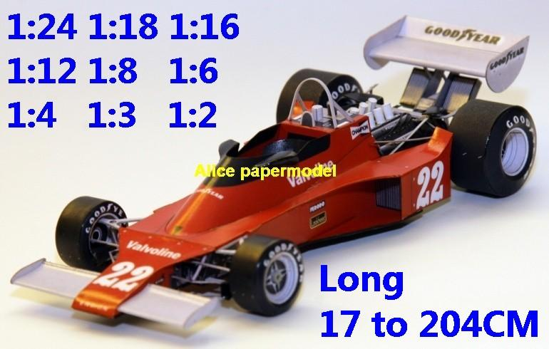 1:24 1:18 1:16 1:12 1:8 1:6 1:4 1:3 1:2 scale British GP 1976 Ensign N176 N-176 GP Belgie team FIA Grands Prix Formula one 1 F1 F-1 Ferrari Mercedes Renault Honda racing papercraft sport vintage classic old car sedan big large scale size car models model on for sale shop store