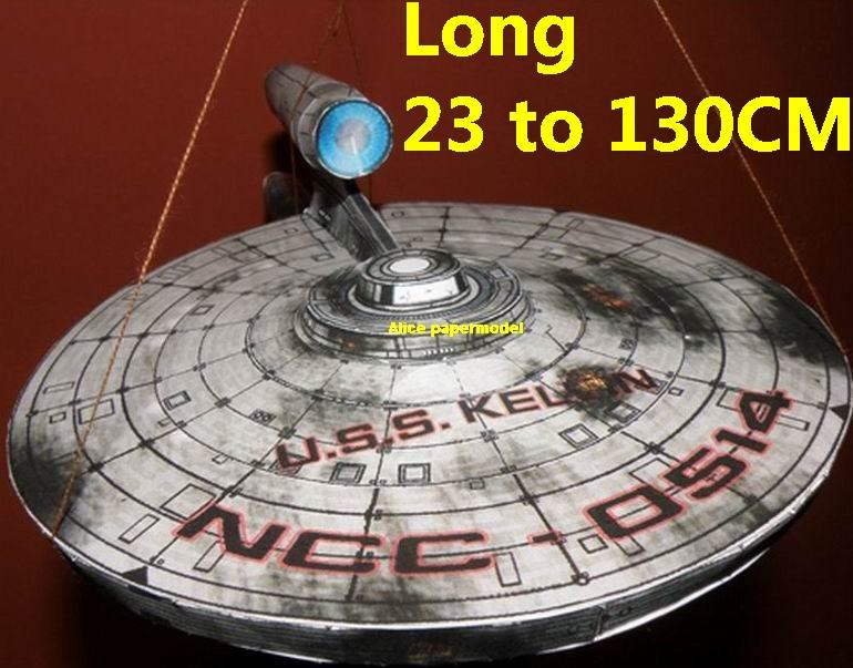 Startrek MOV Kelvin damage USS NCC1701 NCC 1701 enterprise aircraft Star Trek starwar star war starship starcraft big large scale size universe cosmos alien spaceship fighter spacecraft space battleship cruiser station UFO Science fiction SCFI models model papercraft on for sale store shop