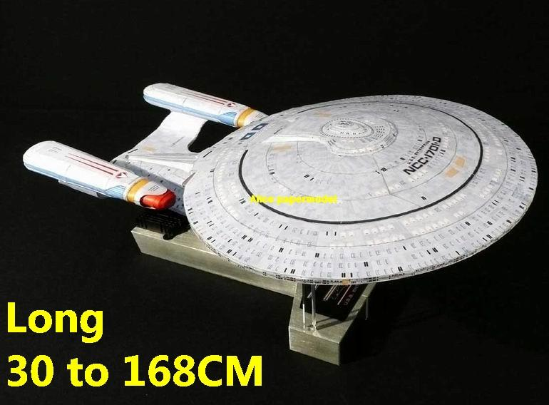 Startrek Galaxy Class USS NCC 1701 NCC1701 NCC1701-D type D enterprise aircraft Star Trek starwar starship starcraft big large scale size universe cosmos alien spaceship fighter spacecraft space battleship cruiser station UFO Science fiction SCFI papercraft models model on for sale shop store