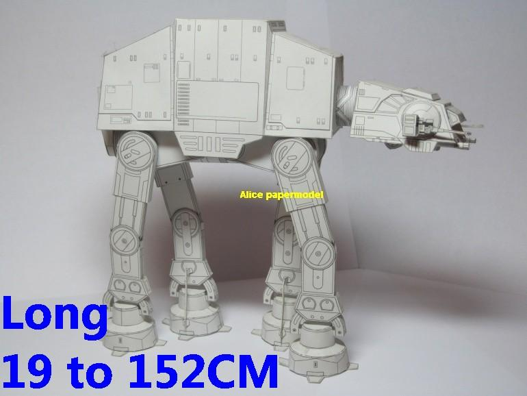 Starwar Galactic the Imperial Walker All Terrain Armored Transport AT-AT AT AT ATAT AT-ST ATST AT ST robot droid star destoryer capital shipfighter jedi starfighter aircraft Startrek starwars star war starship starcraft big large scale size universe cosmos alien spaceship fighter spacecraft space battleship cruiser station UFO Science fiction SCFI models model papercraft on for sale shop store
