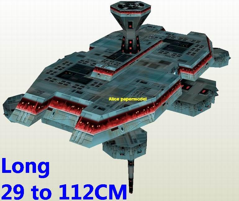 Starwar advanced Imperial Golan II defense platform fighter jedi starfighter aircraft Startrek starwars star war starship starcraft big large scale size universe cosmos alien spaceship fighter spacecraft space battleship cruiser station UFO Science fiction SCFI model models papercraft on for sale shop store